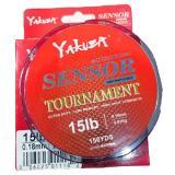 Harga Yakuza Sensor Tournament 15Lb Senar Pancing Kuat Dan Langsung Tenggelam Abu Abu Asli Pancing