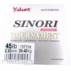 Yakuza Sinori Tournament 45lb Senar Pancing Kuat dan Langsung Tenggelam Hijau