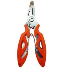 Yangunik Gunting Kail Pancing Ikan Fishing Plier Scissors - Orange