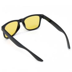 Kuning Mengemudi Lensa Olahraga Bersepeda Naik Matahari Kacamata Penglihatan Malam