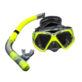 Ulasan Yika Scuba Menyelam Masker Snorkeling Kering Gigi Kit Kuning