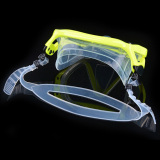 Dapatkan Segera Silikon Menyelam Scuba Masker Snorkeling Kacamata Set Kuning Yika