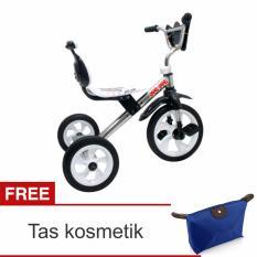 Review Yoeyoe Sepeda Anak Roda Tiga Tricycle Sandaran Tas Multifungsi Crome Yoeyoe Di Banten