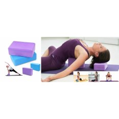 Spesifikasi Yoga Block Brick Balok Yoga For Fitness Random Colour Terbaik