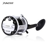 Model Yumoshi 12 1 Ball Bearings Cast Drum Memancing Reel Tangan Kanan 200 Intl Terbaru