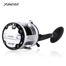 YUMOSHI 12 + 1 Ball Bearings Cast Drum Memancing Reel (tangan Kanan 200)-Intl