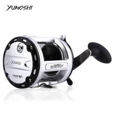 Review Yumoshi 12 1 Ball Bearing High Speed Cast Drum Reel Pancing Kanan Tangan 400 Intl Di Tiongkok