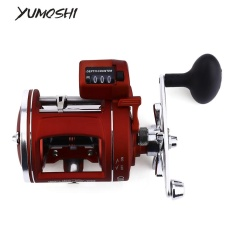 Beli Yumoshi 12 Ball Bearing High Speed Fishing Reel Dengan Electric Kedalaman Menghitung Multiplier Kanan Intl Dengan Kartu Kredit