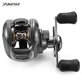 Jual Beli Online Yumoshi 6 2 1 12 1 Ball Bearing Left Right Hand Bait Fishing Baitcasting Reel Intl