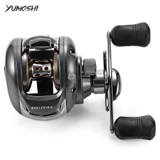 Harga Yumoshi 6 2 1 12 1 Ball Bearing Left Right Hand Bait Fishing Baitcasting Reel Intl Asli Not Specified
