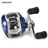 Jual Yumoshi 6 3 1 12 1 Ball Bearing High Speed Left Right Hand Bait Fishing Baitcasting Reel Right Intl Yumoshi Branded