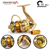 Harga Yumoshi Carp 12Bb Feeder Metal Body Big Spinning Fishing Reels Shimano Hf5000 Intl Fullset Murah