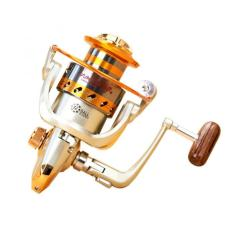 Yumoshi Gulungan Pancing EF6000 Metal Fishing Spinning Reel 12 Ball Be