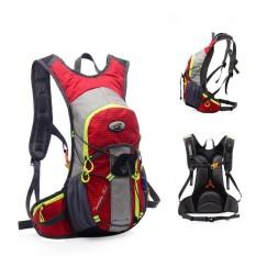 Yunmiao Outdoor Rompi Hidrasi Pack Backpack untuk Mochilas Trail Marathon Running Race Warna: Gules-Intl