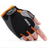 Harga Zh Cocok Untuk Pria Dan Wanita Untuk Digunakan Kawat Es Kebugaran Pelatihan Taktik Anti Skid Gerakan Halffinger Sarung Tangan Orange Intl Seken