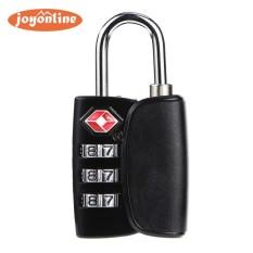 Paduan Seng Keamanan 3 Digit Combination Koper Nomor Kode Mengunci Gembok -Internasional