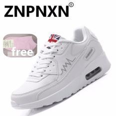 Beli Znpnxn Kaus Terbaru Musim Semi Musim Gugur Menjalankan Sepatu Untuk Outdoor Nyaman Wanita Sneakers Breathable Putih Pakai Kartu Kredit
