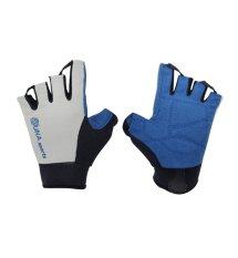 Harga Zuna Sport Men Pointway Multifunction Gloves Half Finger Silver Terbaik