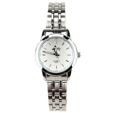 6046 Quartz Watch Ms Steel Band Fashion Pecinta Meja Meja Siswa Tiongkok Diskon 50