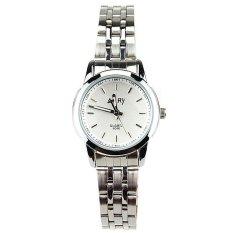 Jual 6046 Quartz Watch Ms Steel Band Fashion Pecinta Meja Meja Siswa Not Specified Branded
