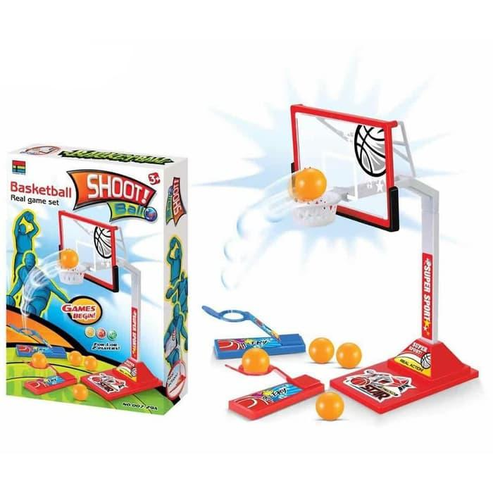 Mainan Anak Shoot Ball Finger Basketball Game Bola Basket Jari