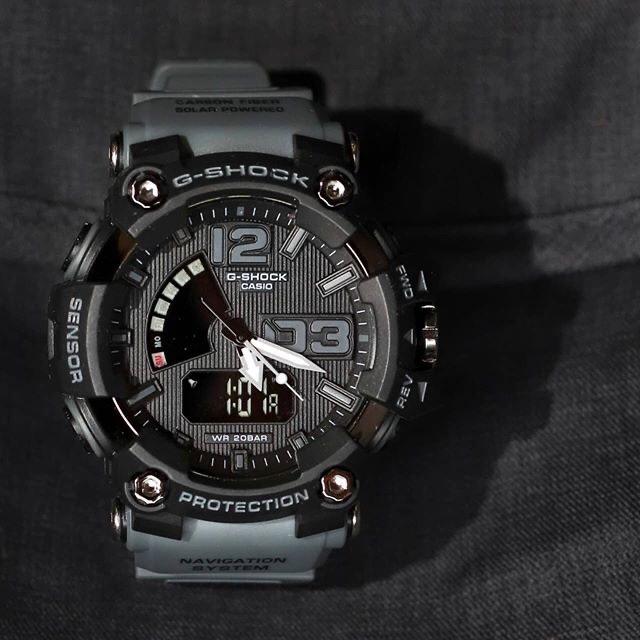 (☑️NEW) Jam tangan sport pria G SHOCK_GS 21412NEW dualtime limited edision