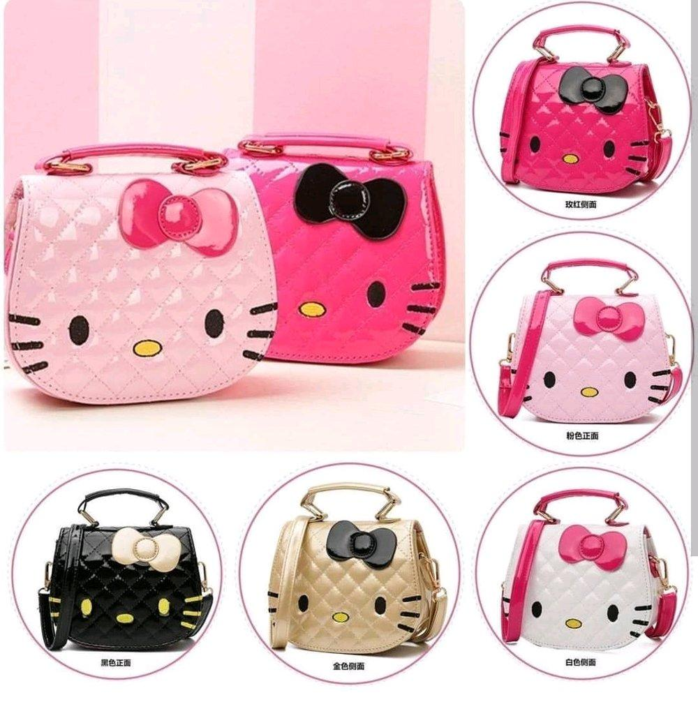 Hn - Tas Selempang Princess - Fashion Anak-Anak Impor Motif Hello Kitty By Hanasy.