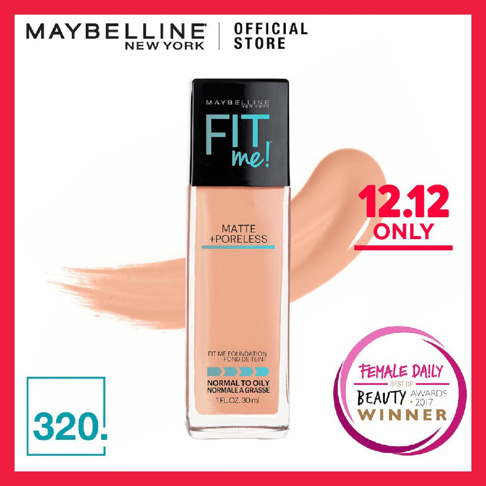 Maybelline Fit Me Matte + Poreless Foundation - 320 Natural Tan
