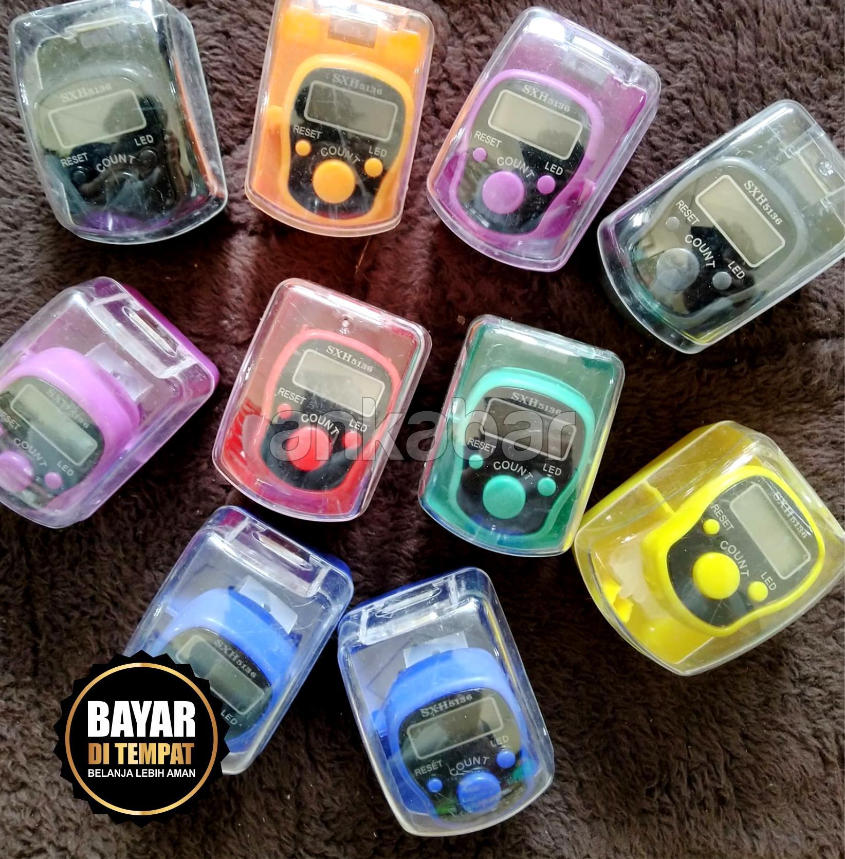 Rp 15.000. Tasbih Digital Mini / Digital Tally Counter Bukan LED Murah Berkualitas - Tasbih Digital Finger Counter / Cincin Penghitung Digital / Alat ...