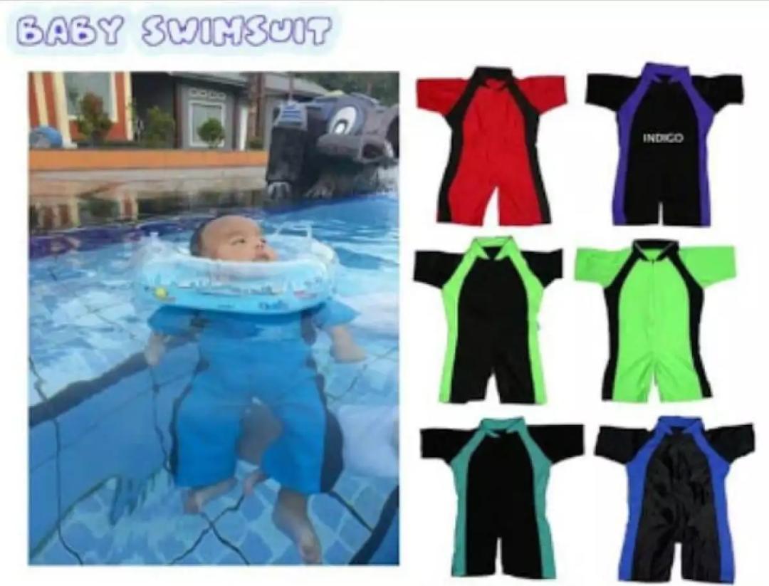 Baju Renang Anak Karakter 1 2 tahun -  Baju Diving bayi Laki-Laki - baju renang anak cowok - baju renang bayi
