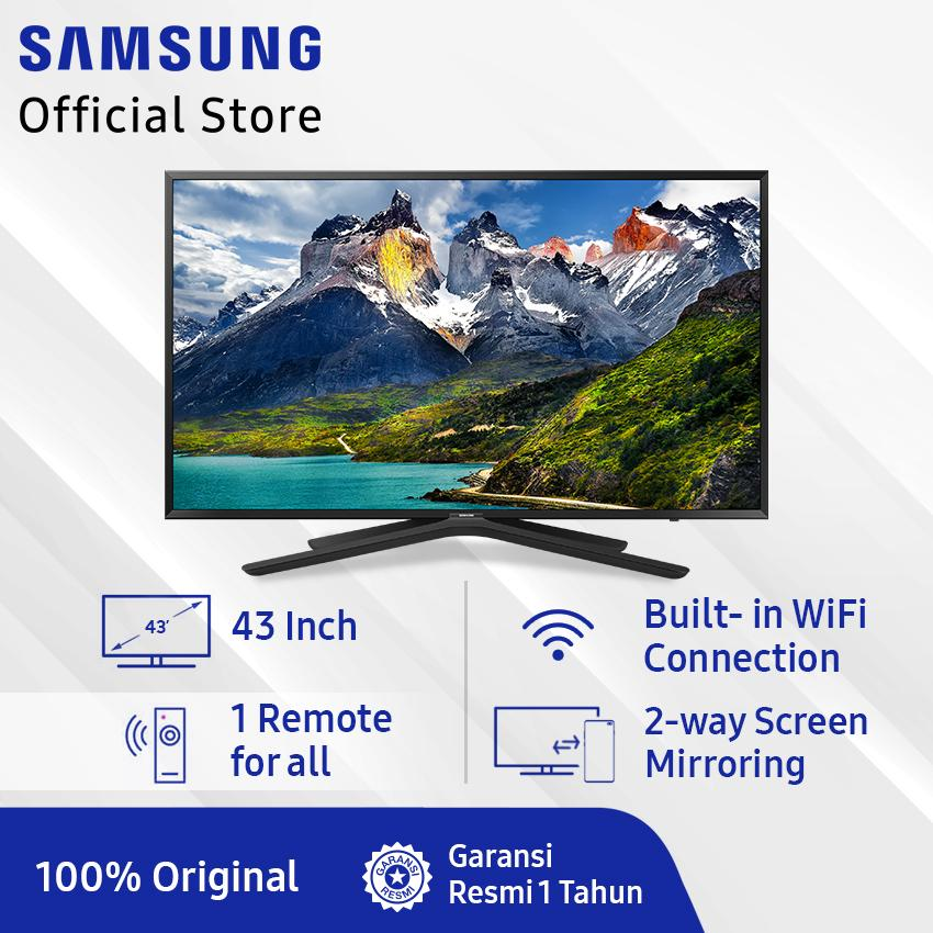 [GRATIS ONGKIR] Samsung FullHD Super Smart TV 43 N5500 (2019) Model : 43N5500