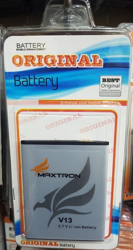 Original Batre Baterai Maxtron V13