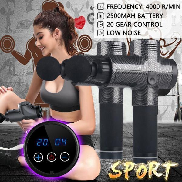 Bảng giá LAZ Gym Bản Gốc 20 Đèn Pin Điều Khiển Màn Hình Massage Điện, Máy Mát Xa Bộ Gõ Gửi 4 Đầu Massage