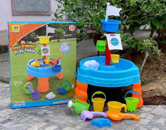 Ravenz Mainan Meja Pasir Sand Water Play Table Hg849 / Mainan Anak / Mainan Edukasi By Ravenz.