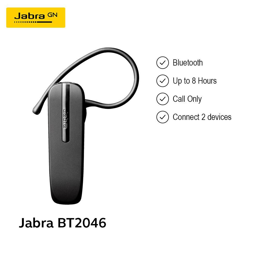 Jabra BT-2046 Bluetooth Headset - Black