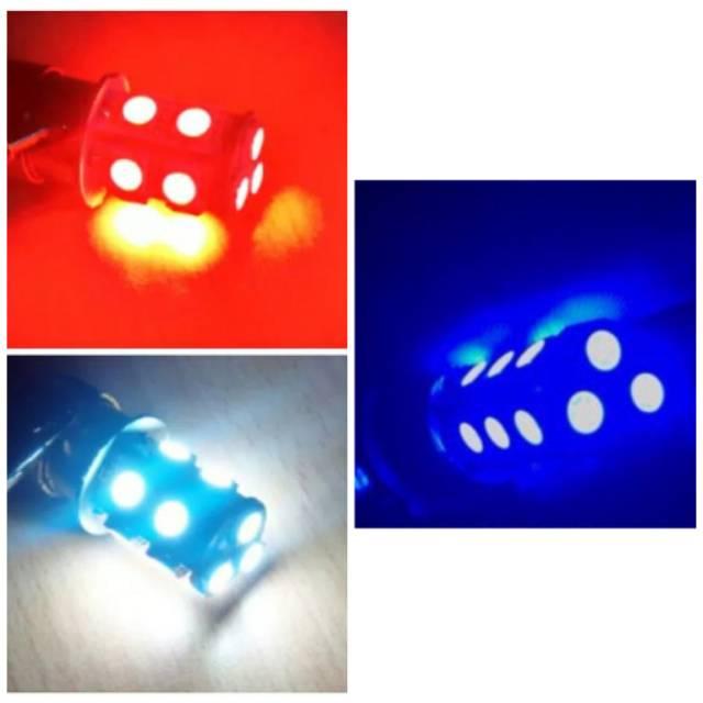 Lampu stop rem 13 LED Flash 13 LED Mata Motor Mobil bohlam stop belakang / Lampu Stop Rem Belakang Kedip 13Mata LED