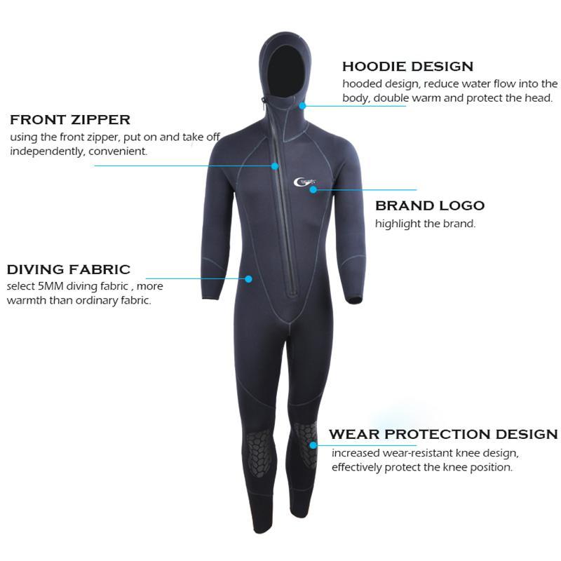 Lycra Hood for Warm Water Diving