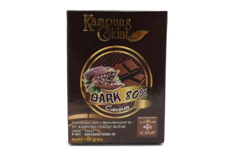 Dark Coklat 80 % Grosir Coklat Kampung Coklat