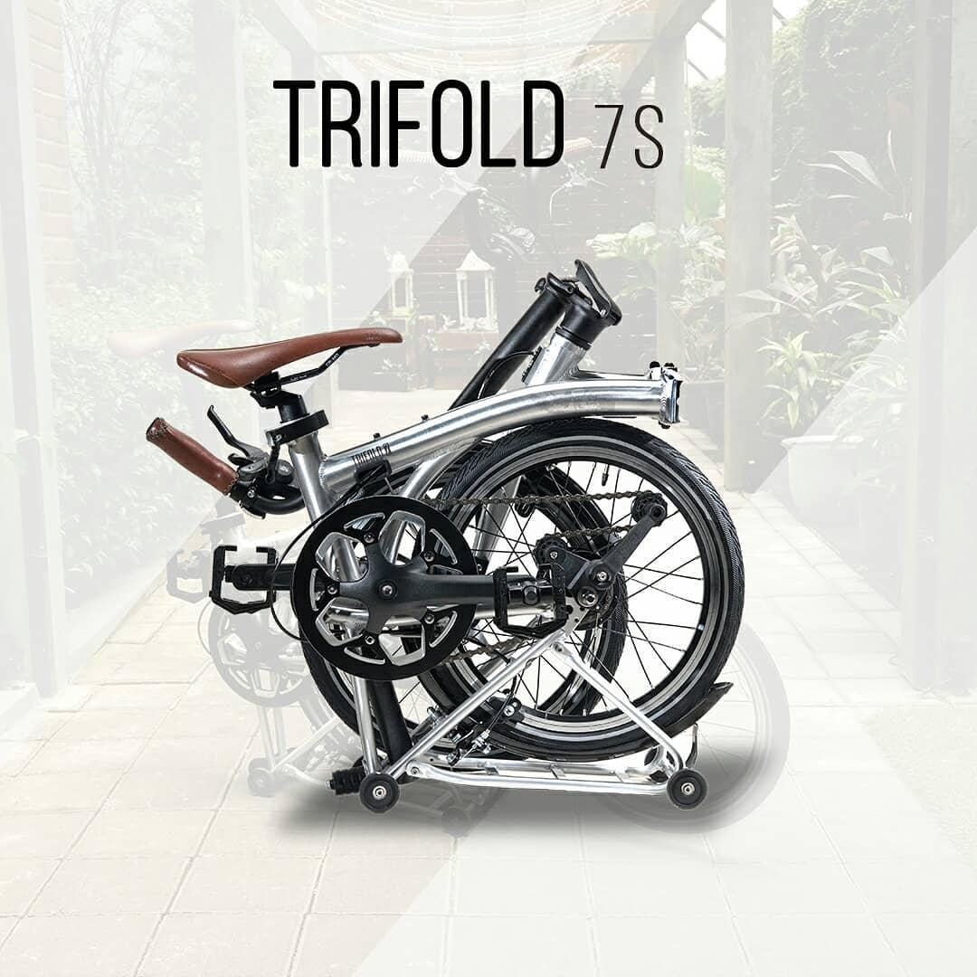 United Trifold 7S Sepeda Lipat 16 Inch - Seven Speed