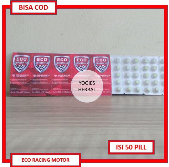 Bisa Cod Eco Racing Motor Isi 50 Original Bisa Cod Eco Racing