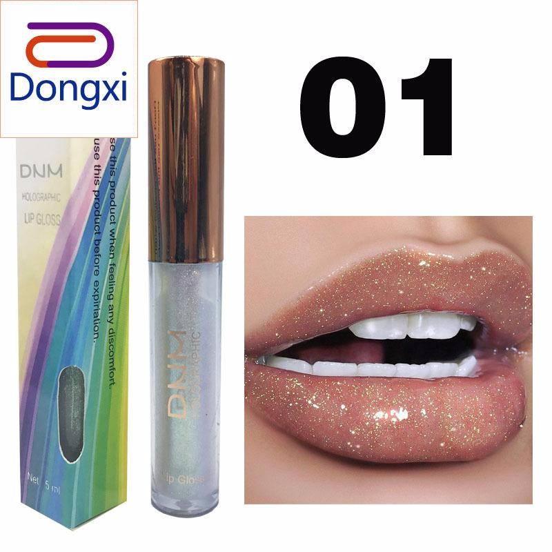 Dongxi Baru Shimmer Lipstik Yang Tahan Lama Glitter Lipstick Cair Lipgloss Pigmen Bercahaya Lip Gloss Bibir