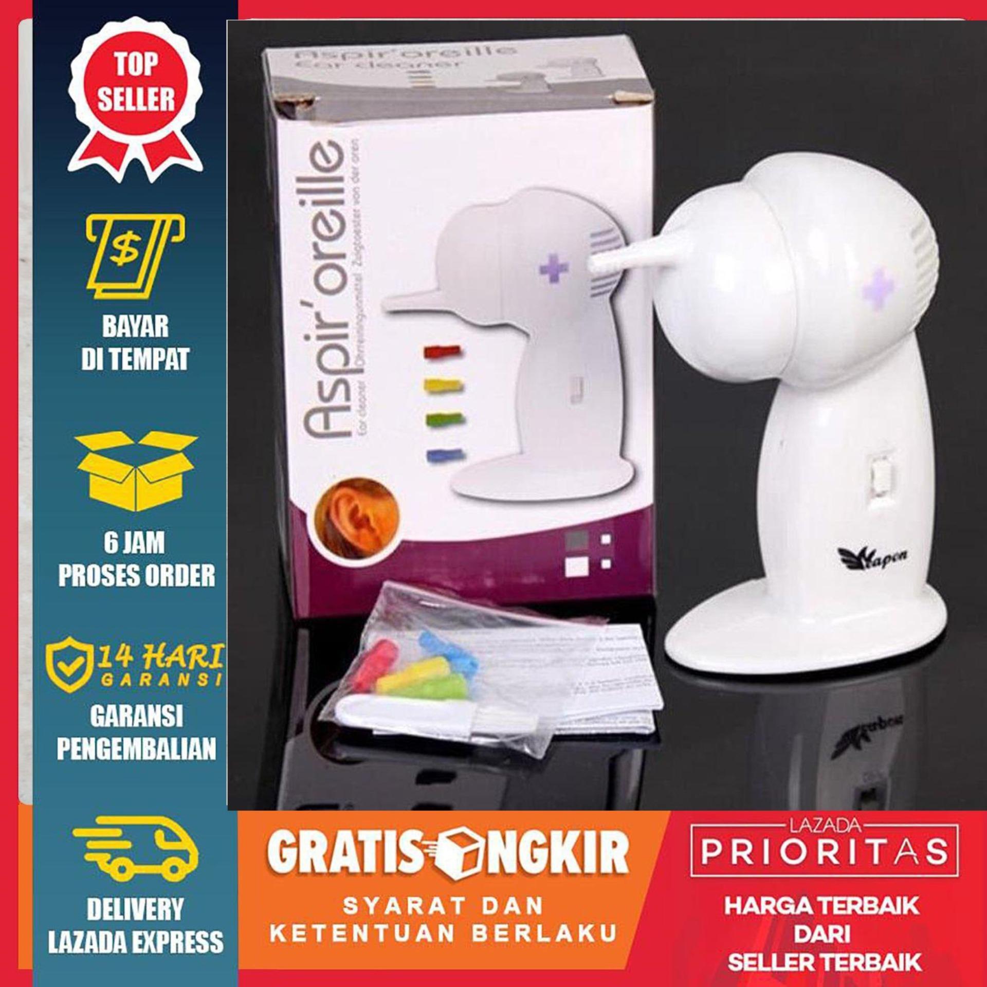HIGH QUALITY - Premium ASPIR OREILLE PEMBERSIH TELINGA / Wax Vac Ear Cleaner Cleanser Gentle Suction