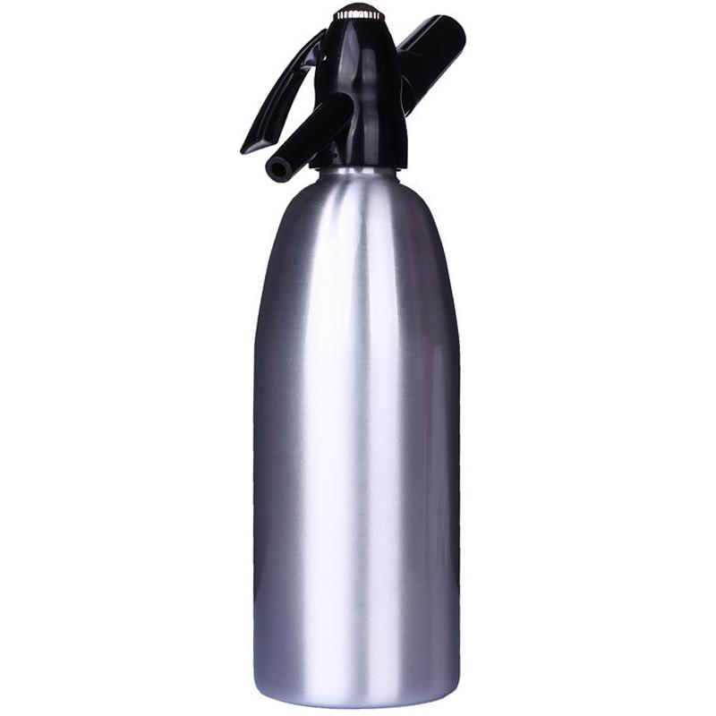 Diy Soda Water Siphon Home Drink Juice Machine Bar Beer Soda Syphon Maker Steel Bottle Sodastream Foam Cylinders Co2 Injector
