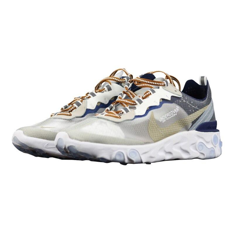 Original Authentic Nike_Epic React Element 87 Men's Running Shoes Sport Outdoor Sneakers Athletic Designer New Arrival AQ1813