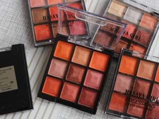 COD - Eyeshadow Palette Murah Hasaya Girl OBSESSIONS 9 Color Eyeshadow thumbnail