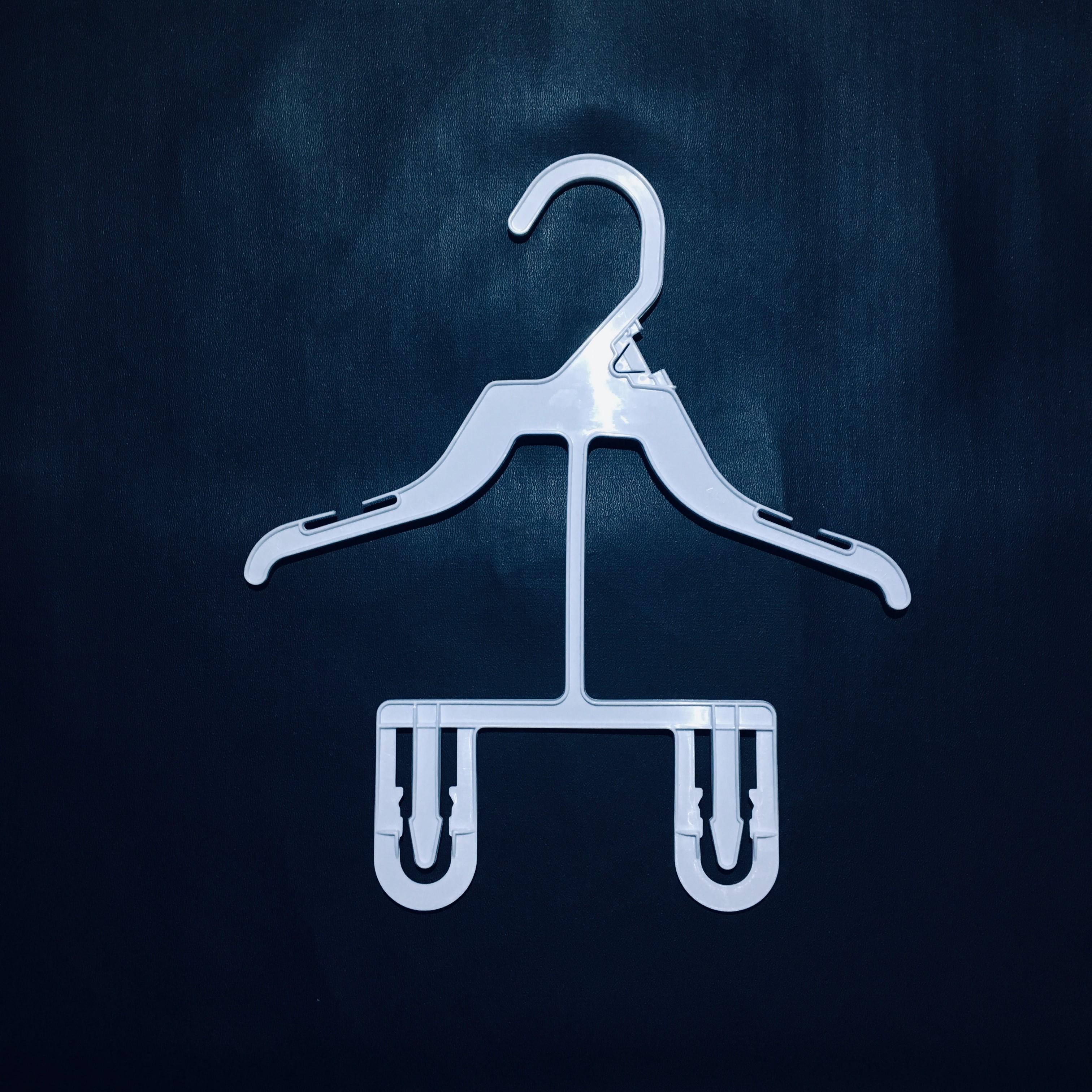 Gantungan Baju Bayi Hanger Anak Balita Multifungsi - 1/2 Lusin (6 Pcs)