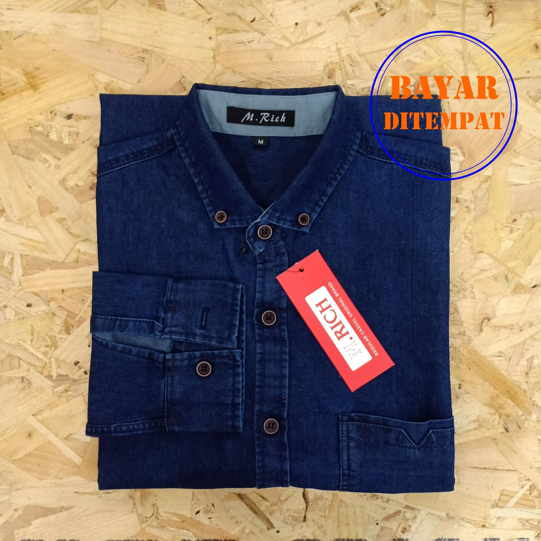 Kemeja Jeans Cassual Man All Collection
