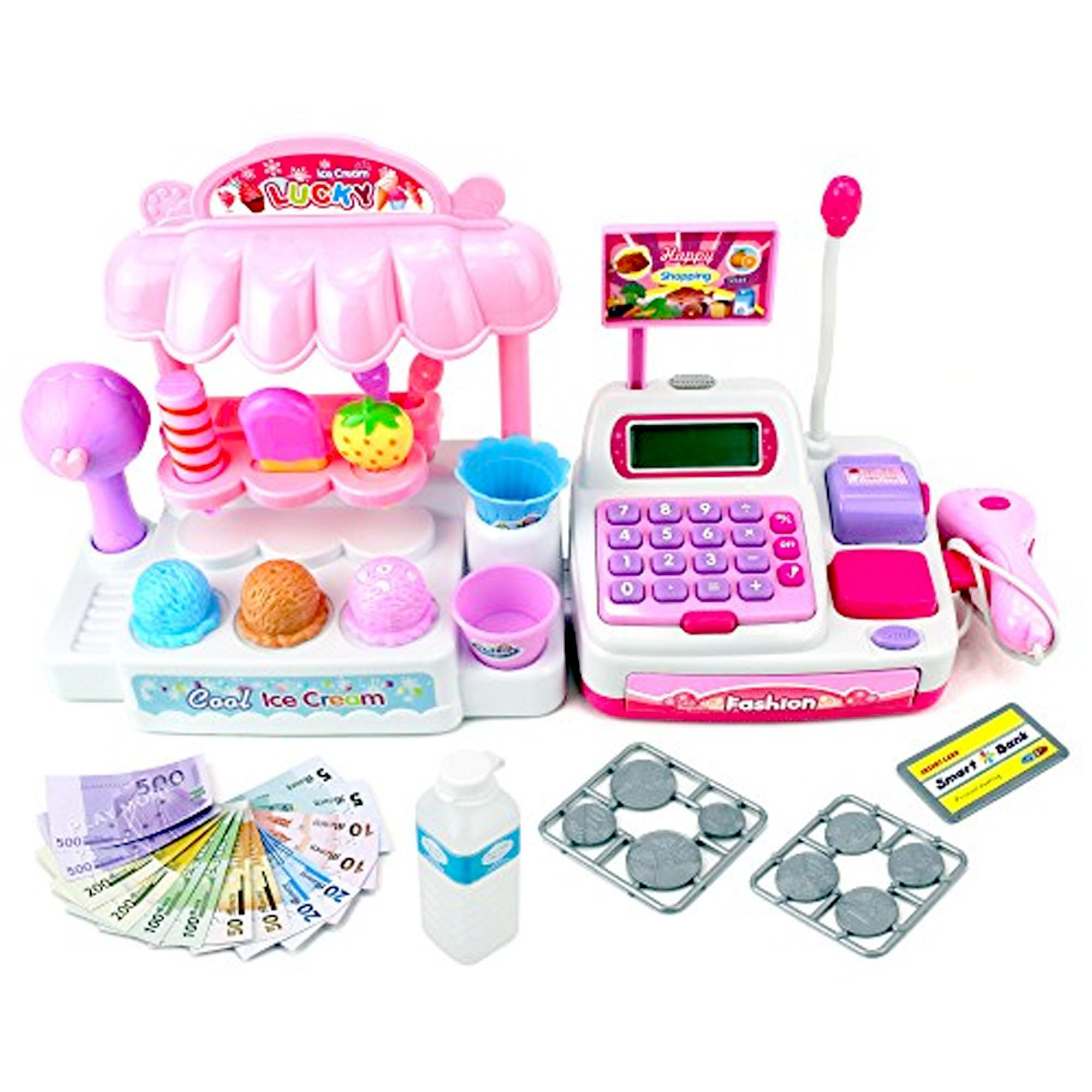 Fio Online - Mainan Anak Perempuan - 5929 - Ice Cream Store Cash Register