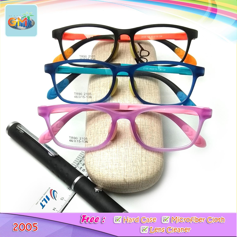 Frame Kacamata Anak Kid / Kacamata Kesehatan Anak + Lensa Lengkap / Kacamata Anak Kekinian Unisex By Gm Star