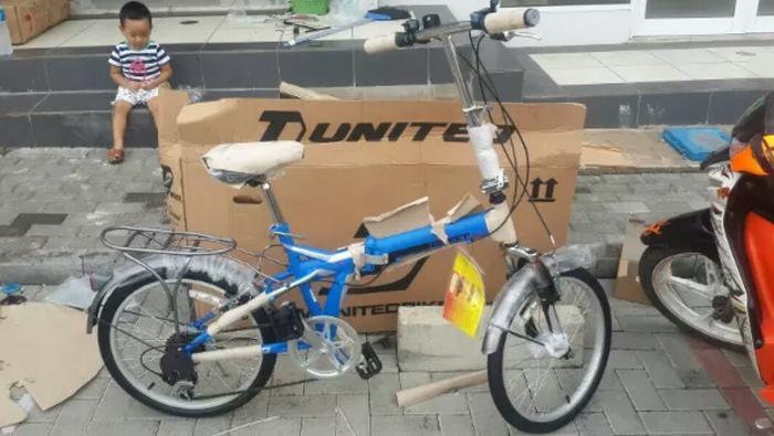 Sepeda Lipat 20 Anak dan Dewasa United Quest CL 02 TERBARU